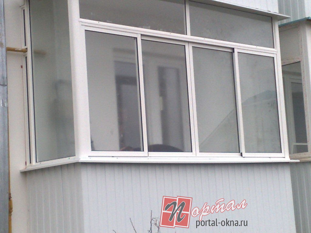 How to glaze the balcony with plastic windows? - home decora.