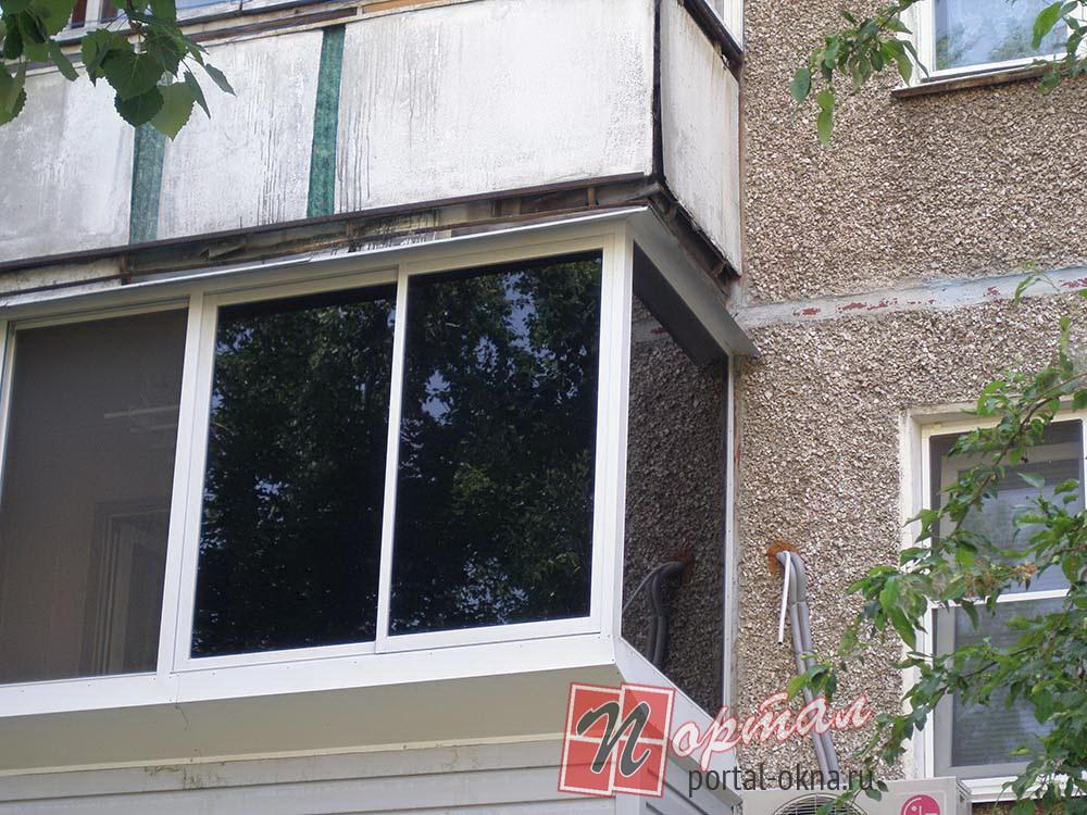 Внешняя отделка балконов - производственная компания портал .