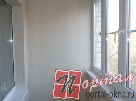 Балкон отделка вагонка пвх панели окна рамы низкие цены фото.