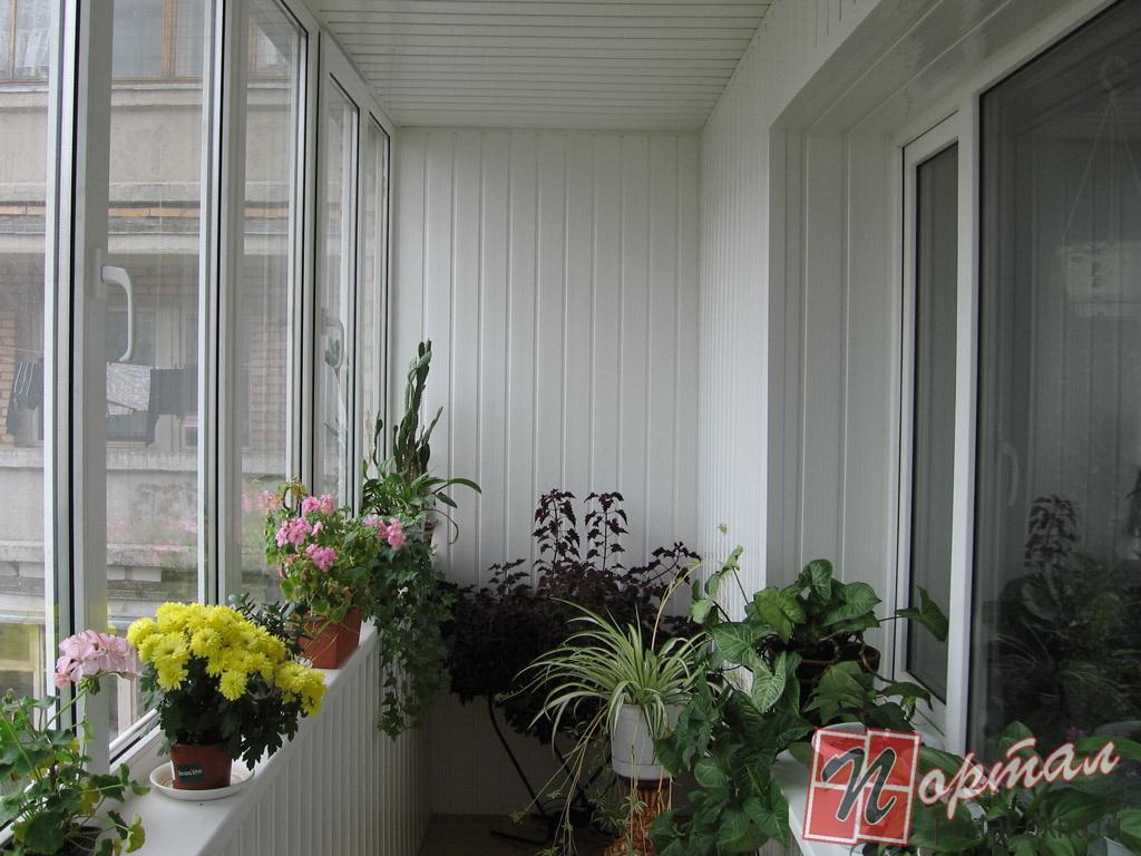 Балконные рамы пвх. фото..