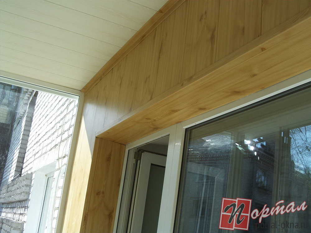 Внутренняя отделка балконов - производственная компания порт.